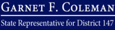 Garnet F. Coleman | State Representative for District 147